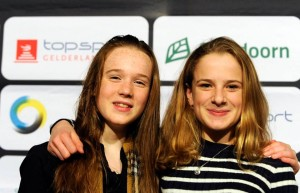 Sportgala gelderland 2015 Kelly en Marit